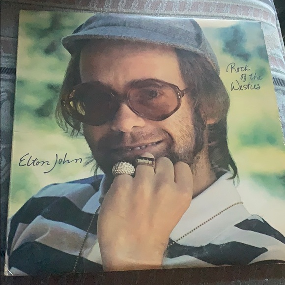 Other - Rock of the Westies by Elton John Vinyl Album